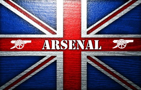 Картинка фон, флаг, пушка, Арсенал, Arsenal, Football Club, The Gunners, Канониры, Футбольный клуб
