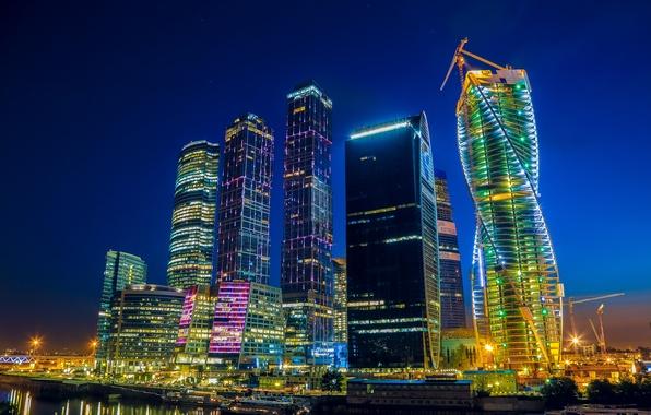 Картинка город, москва, столица, москва-сити