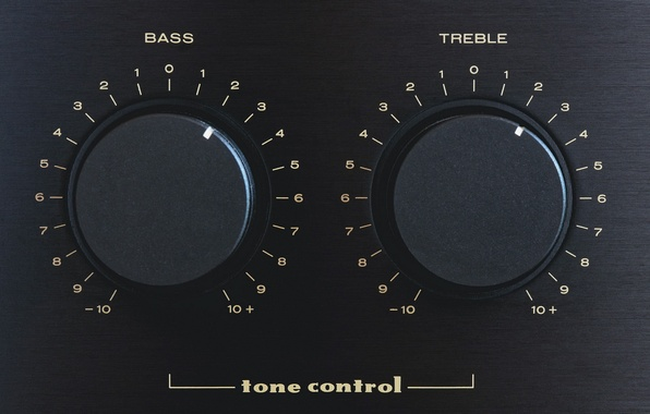 Фото обои treble, tone control, Bass