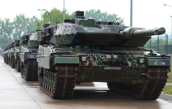 Картинка оружие, армия, танк, Leopard 2 A5