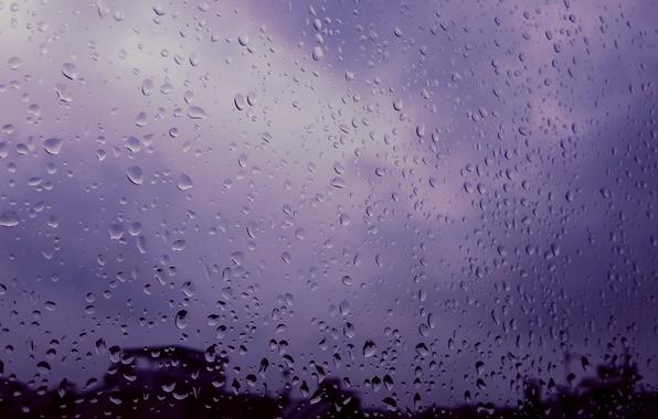 Картинка rain, window, colour, cold, today