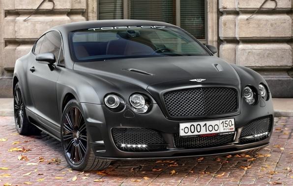 Картинка Bentley, Continental, автомобили