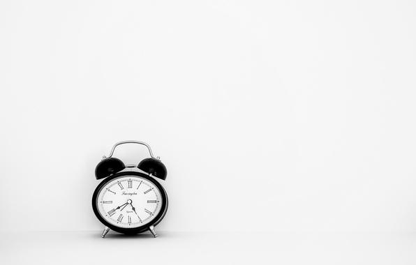 Картинка время, фон, часы, будильник