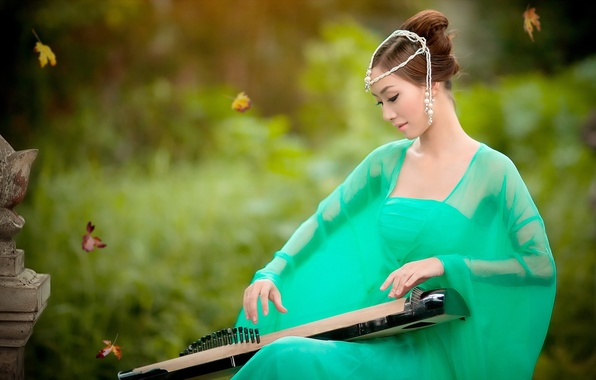 Картинка girl, beautiful, model, asian, lovely, hatphoenix