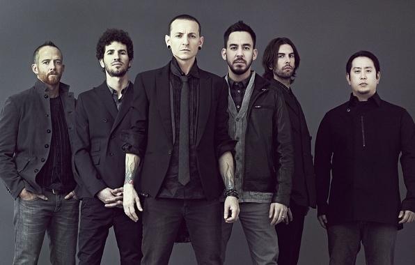 Картинка Linkin Park, Mike Shinoda, Chester Bennington, Photo, Линкин Парк, Phoenix, промо 2012, Joe Hahn, Rob …
