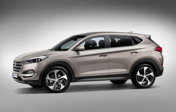 Картинка Hyundai, 2015, Tucson, хундай, туссан