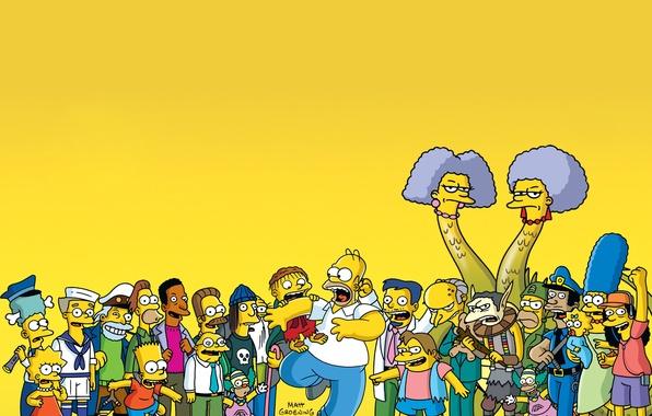 Картинка симпсоны, сериал, мульт