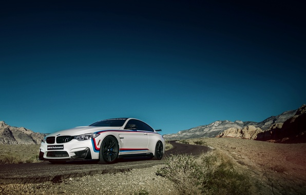 Картинка небо, бмв, купе, BMW, Coupe