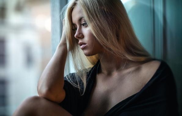 Картинка грусть, девушка, губки, прелесть, Amanda Gyllensparv