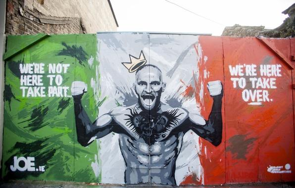 Картинка UFC, Графити, Конор МакГрегор, Conor McGregor
