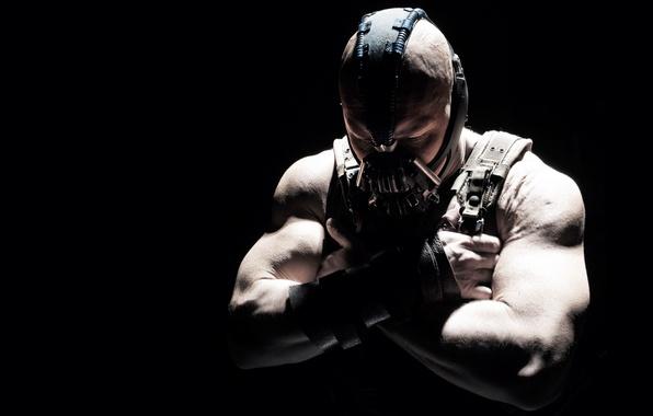 Картинка The Dark Knight Rises, Возрождение легенды, Том Харди, Темный Рыцарь, Бэйн, Tom Hardy, Bane