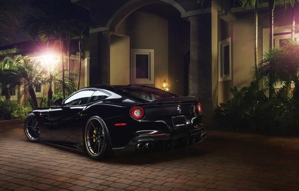 Картинка Ferrari, Berlinetta, F12, Wheels, Exhaust, Capristo, Rear, Boutique, ADV.1, Systems, GmbH