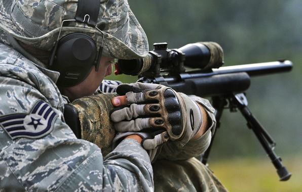 Картинка United States Air Force, Sniper, M24
