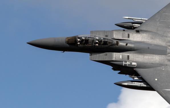 Картинка истребитель, Eagle, F-15, McDonnell Douglas