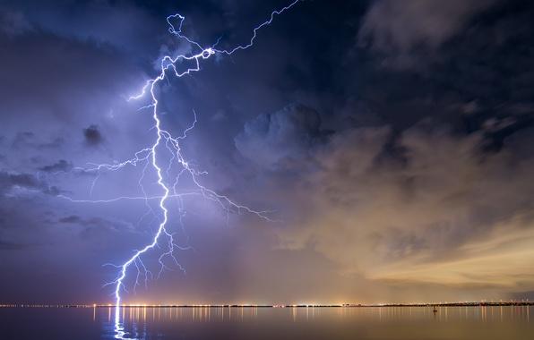 Картинка гроза, небо, стихия, молния