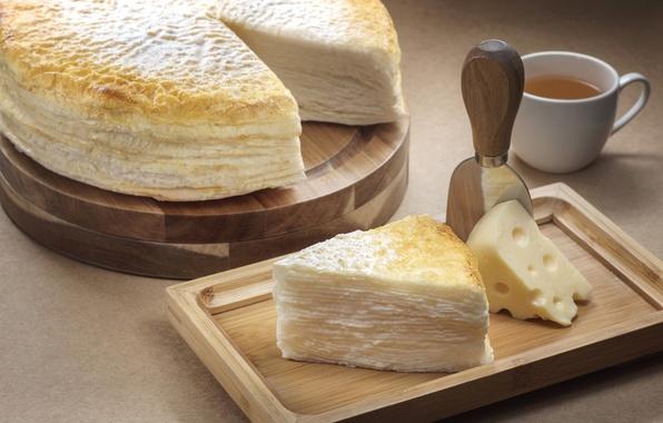 Картинка сыр, пирог, выпечка