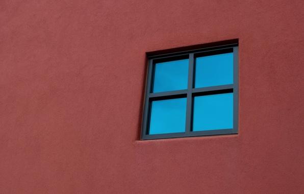 Картинка стена, минимализм, окно