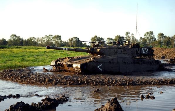 Картинка танк, бронетехника, военная техника, Израиль, Merkava 2