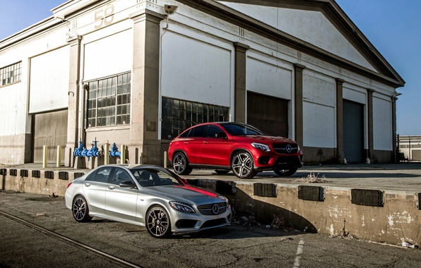 Картинка Mercedes-Benz, мерседес, AMG, амг, C-Class, W205, C292, GLE-Class