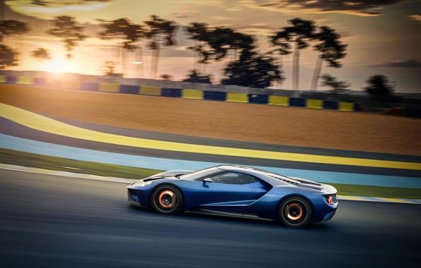 Картинка скорость, Ford, суперкар, автомобиль, тормоза