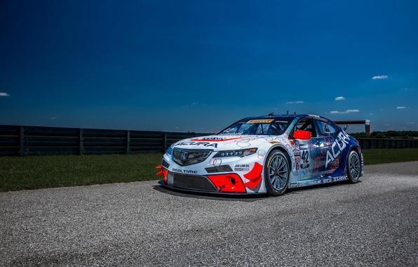 Картинка акура, Acura, Race Car, 2014, TLX