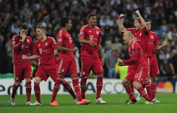 Картинка футбол, бавария, football, лига чемпионов, germany, bayren munich