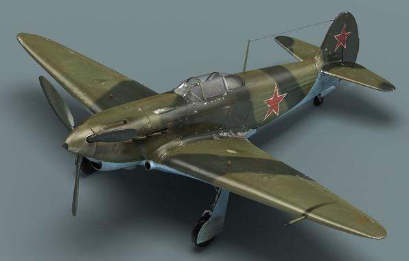 Картинка кабина, самолёт, Советский истребитель, як-3