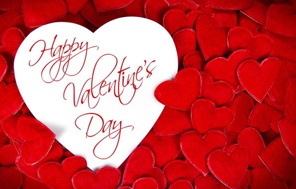 Картинка сердечки, red, love, heart, romantic, Valentine's Day, Happy