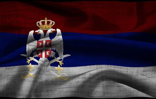 Картинка флаг, герб, Сербия, Serbia
