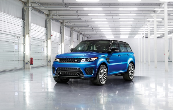 Картинка Land Rover, Range Rover, Sport, 2015, SVR