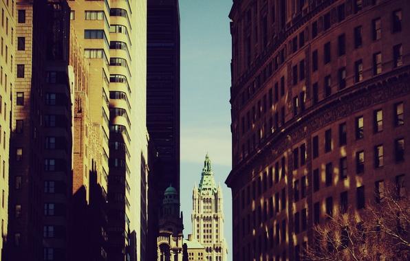 Картинка city, город, нью-йорк, new york, обои на рабочий стол, картинки для рабочего стола