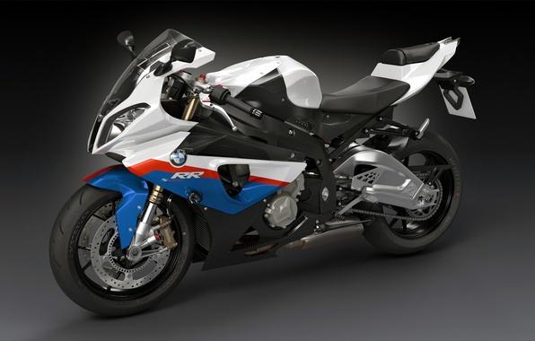 Картинка BMW, арт, спортивный мотоцикл, dangeruss, S1000, Супербайк