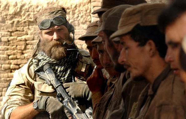 Картинка взгляд, мужик, борода, Medal of Honor