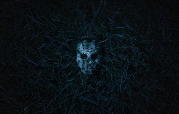 Картинка маска, Пятница 13, ужасы, джейсон