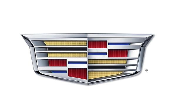 Картинка Cadillac, логотип, новый, 2014