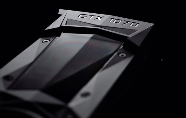 Картинка GTX, Nvidia, GeForce, видеокарта, нвидиа, новое поколение, 1070