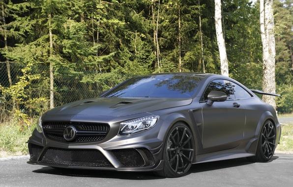 Картинка Mercedes-Benz, мерседес, AMG, Coupe, Mansory, амг, S 63, S-Class, 2015, C217