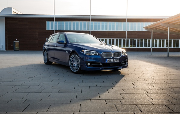 Картинка бмв, BMW, F10, универсал, Alpina, Limousine, Bi-Turbo, 2015, Edition 50