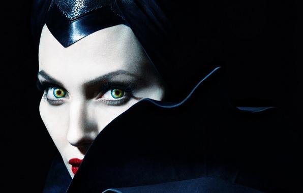 Фото обои Анджелина Джоли, Angelina Jolie, Maleficent, Малефисента