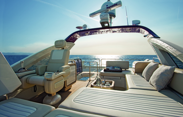 Картинка дизайн, стиль, интерьер, яхта, люкс, Yacht, Flybridge, Azimut-72S