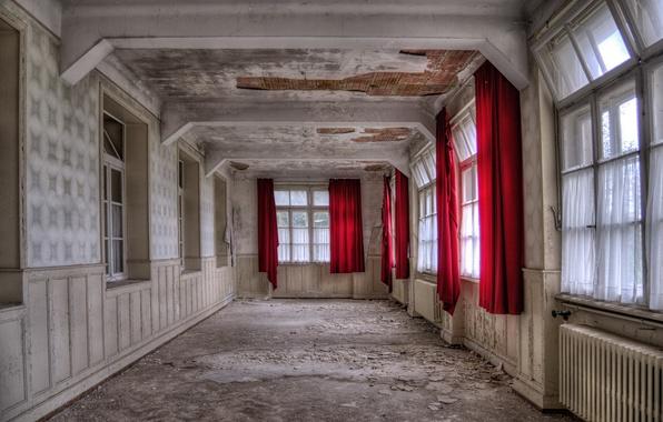 Картинка фон, комната, окна