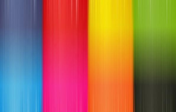 Картинка оранжевый, синий, красный, жёлтый, голубой, зелёный, пурпурный