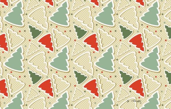 Картинка новый год, рождество, ёлки