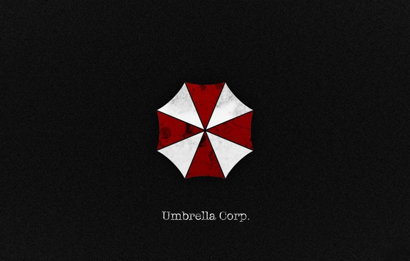Картинка red, blood, logo, game, grey, texture, cross, Resident Evil, Umbrella, cell, book, evil, film, Biohazard, …