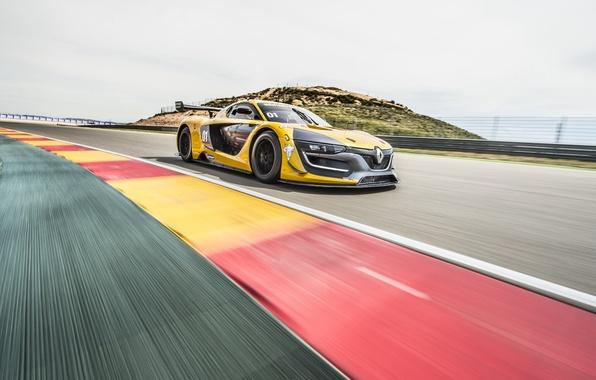 Картинка Renault, суперкар, рено, Sport, 2014, RS 01
