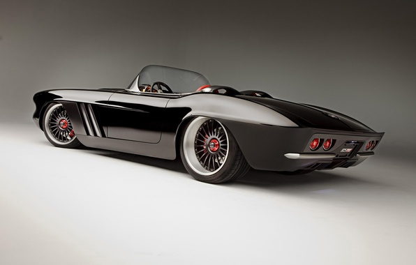 Картинка Roadster, кабриолет, chevrolet, sport car, 1962, corvette c1
