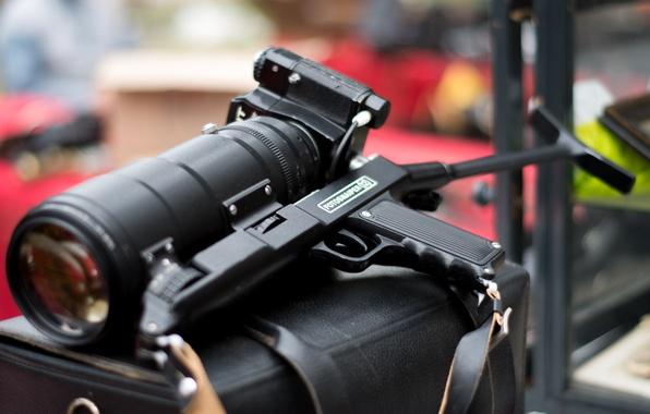 Картинка камера, Зенит, фотоаппарат, ручка, объектив, приклад