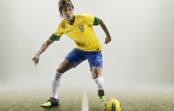 Картинка футбольные обои, neymar, неймар