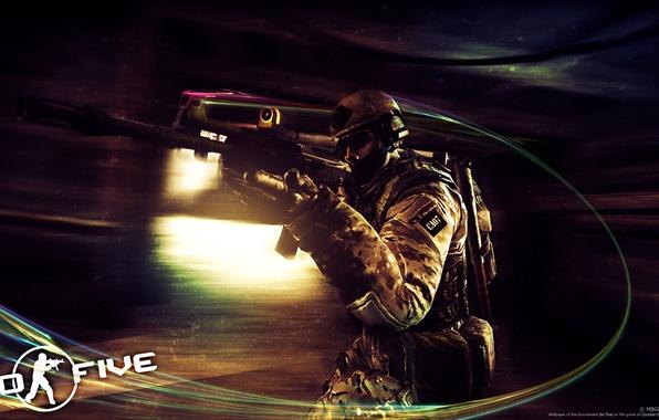 Картинка GO FIVE, Counter-Strike Global Offensive, CSGO
