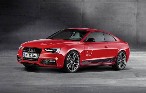 Картинка Audi, ауди, купе, красная, Coupe